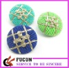 fabric cover button