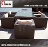 Garden PE rattan sofa set SY-031