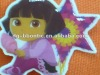 pvc pretty girl sticker for kids