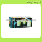 Set De 3 Bougies LED Telecommandees, Flameless 3pcs Remote Controlled Led Candle Light Festive Candle Light