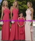 wholesale hot sale spaghetti strap hand made hand made prom dress/evening gown/evening dress&wedding dress