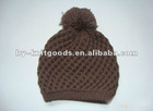 FASHION LADIES knitted HATS with BALL