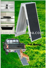 Bi-fold aluminum+sandpaper pet ramp