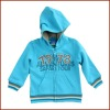 Blue Boys 100% Cotton Hoody Jacket for Spring and Autum