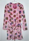 Girl's 100% Polyester Fleece Bathrobe 3500pcs-KF3373