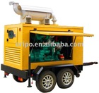 famous brand Shangchai mobile generator set with worldwide maintain service