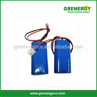 Lithium Ion recharge Batteri 18650- -4400mAh 3.7V for GPS