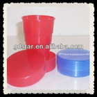 Promotional Plastic folding cup for travel
