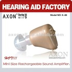 2012 Hot sale Rechargeable mini Hearing Aid K-88