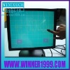 17 inch LCD touch monitor/with 4 wire resistive touch screen