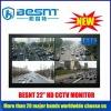 2012 high resolution 22 inch HD CCTV camera monitor