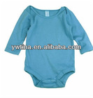 2013 Newest Blue Baby Cotton Rompers Baby Cotton Petti Rompers