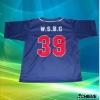 custom camo baseball jerseys 100% polyester sublimation