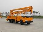 platform operation truck