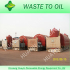 THREE FACTORIES tyre scrap pyrolysis machine