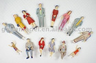 G scale Model Painted Figures P30-14 for train layout