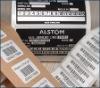 Barcode tamper evident printing label