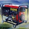 3.3KVA open frame recoil starter diesel generators fixture
