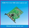 ON SALE PCI-E 4CH HDMI capture card