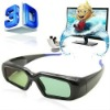 Compact Professional 3D Active Shutter Glasses for 3D TVs