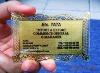 Golden Metal Business Card
