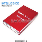 Universal 9600mAh portable battery power bank emergency charger for mobile phone