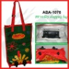 pp woven trolley shoping bag/foldable & waterproof