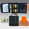 Auto accident kit with 35mm disposable flash camera