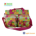 600D polyester baby diaper bag