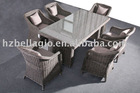 round rattan sofa