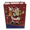 Paper christmas gift shopping bag