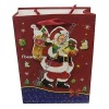 Paper christmas gift shopping bag