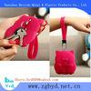 hot selling Maneki neko Silicone Bags for keys,Maneki neko key wallet, animal key purse