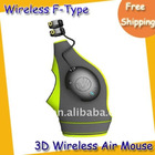 2.4G mini 3D wireless air mouse with USB