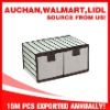 Non-woven 2-unit storage drawer box