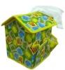 Customised baby toys fashion polyester toy basket
