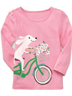 ICT 5547 girl long-sleeve T-shirt