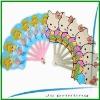 PP plastic folding fans