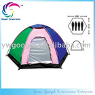 Waterproof Polyester 4-person Hexagon Camping Tent