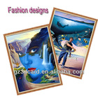 3D picture of fashion designs 3d modern art picture