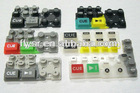 different kinds of silicone rubber keypad