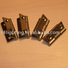 Brass door hinge