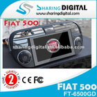 Sharing Digital Fiat 500 GPS Navigation Systems