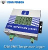 GPRS Temperature Log,S261,Remote Temperature Measurement Center,On line Temperature Measure by Web page