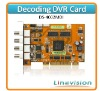 Hikvision DS-4002MDI Decode Card, working with DS-4000/4200 compression card