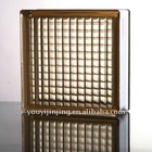 Brown Parallel Glass Block