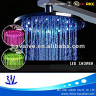 China led bathroom shower