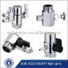 stainless steel 3 way ball valve