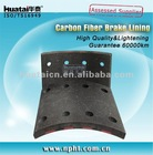 Brake shoe lining STR REAR WVA19246