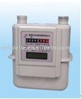 dual display smart gas meter with Ic card